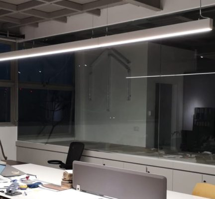 Suspended Link Linear Lights